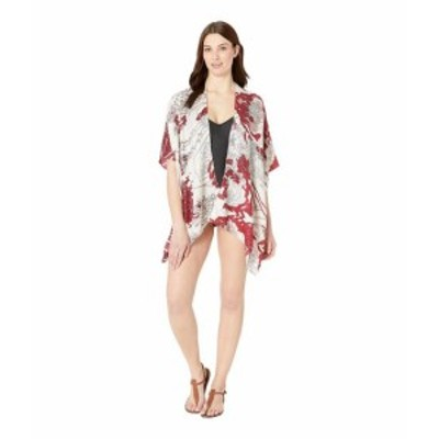 Vince Camuto ヴィンスカムート 水着 一般 Flower Field Tacked Cover-Up
