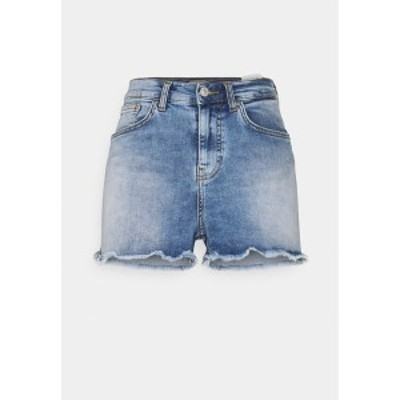 エル ティ ビー レディース デニムパンツ ボトムス LAYLA - Denim shorts - oleana undamaged wash oleana undamaged wash