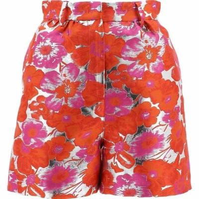 エムエスジーエム Msgm レディース ショートパンツ ボトムス・パンツ Flower Print Shorts Orange