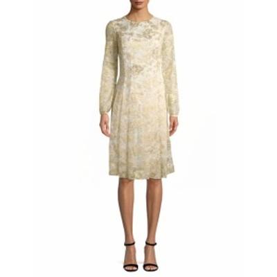 オスカーデラレンタ レディース ワンピース Foil Print A-Line Dress