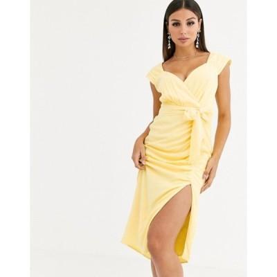 テルーラ レディース ワンピース トップス Talulah Radiance gathered belted midi dress