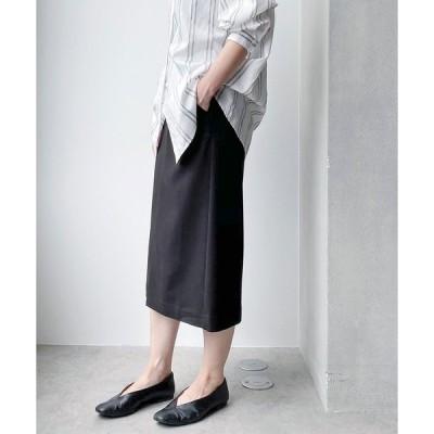 スカート WEB限定/スリットタイトスカート