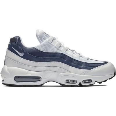 ナイキ メンズ エアマックス95 Nike Air Max 95 Essential White  MIDNIGHT NAVY MONSOON BLUE