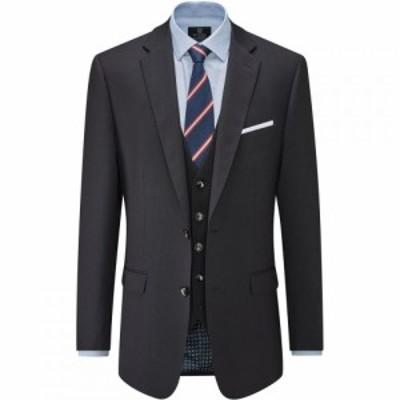 スコープス Skopes メンズ スーツ・ジャケット アウター Harmby Navy Wool Blend Suit Jacket Navy