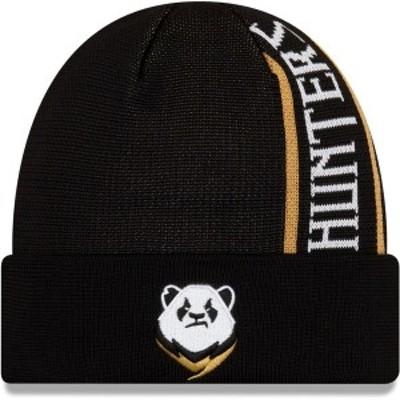 ニューエラ メンズ 帽子 アクセサリー Chengdu Hunters New Era Cuffed Knit Hat Black