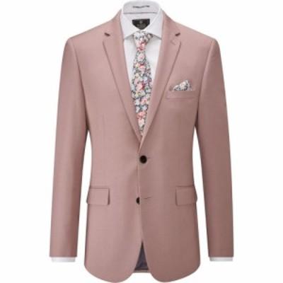 スコープス Skopes メンズ スーツ・ジャケット アウター Milo Slim Suit Jacket Pink