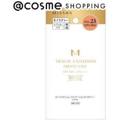 【アットコスメショッピング/@cosme SHOPPING】 MISSHA(ミシャ) M クッション ファンデーション(モイスチャー) No.23 自然な肌色 レフィル