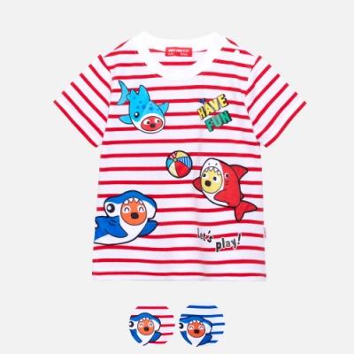 WHY AND 1/2 mini 條紋棉質萊卡T恤 多色可選 1Y ~ 4Y