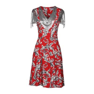 J.W.アンダーソン JW ANDERSON ミニワンピース&ドレス レッド 8 レーヨン 100% ミニワンピース&ドレス