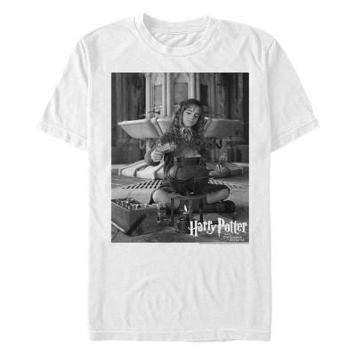 フィフスサン Tシャツ トップス メンズ Men's Hermione Potions Short Sleeve Crew T-shirt White