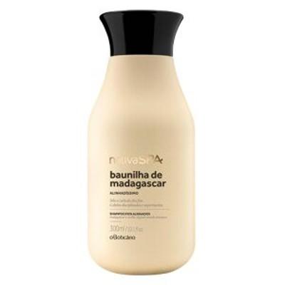オ・ボチカリオ  ナチーバスパ  シャンプー マダガスカル産 バニラ 300ML O Botic?rio Nativa SPA BAUNILHA de MADAGASCAR Shampoo Alin