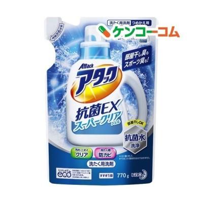 アタック 抗菌EX スーパークリアジェル 洗濯洗剤 詰め替え ( 770g )/ アタック