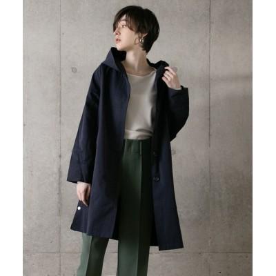 YOSOOU / グログランサイドスリットコート WOMEN ジャケット/アウター > ステンカラーコート