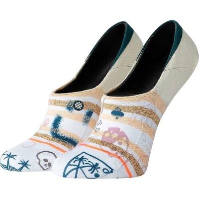 スタンス 靴下 レディース アンダーウェア Stance Women's Hippie Moshpit Sock Off White