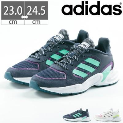 アディダス adidas スニーカー 90S VALASION W バラジオン 靴 シューズ 通勤 通学 運動 ホワイト ブラック ネイビー 黒 白 紺 EG8419 EG8422