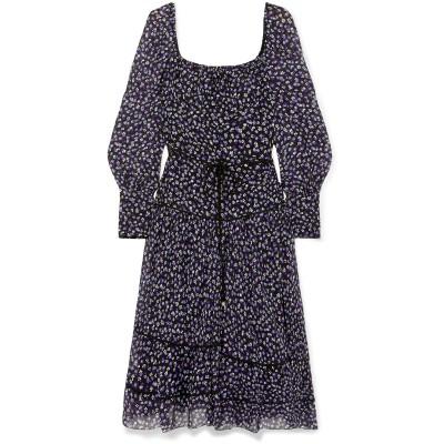 アルチュザラ ALTUZARRA 7分丈ワンピース・ドレス ブラック 40 シルク 88% / ポリエステル 12% 7分丈ワンピース・ドレス