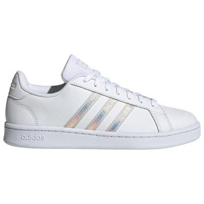 アディダス スニーカー レディース シューズ adidas Grand Court Ftwr White / Alumina / Alumina
