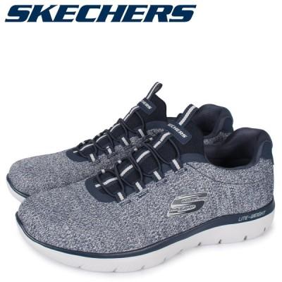 SKECHERS スケッチャーズ サミット スニーカー メンズ SUMMITS FORTON ネイビー 52813-NVY 予約 10月上旬 追加入荷予定