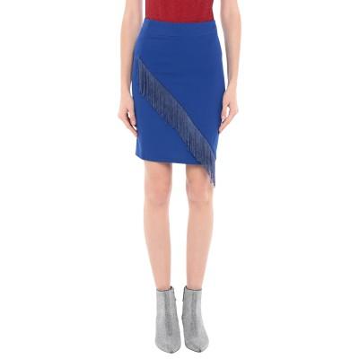 LA KORE ひざ丈スカート ブルー 38 ポリエステル 95% / ポリウレタン 5% ひざ丈スカート