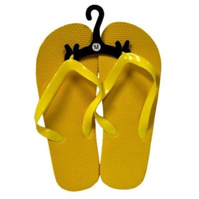 レディース 靴 サンダル Womens Yellow Flip Flops Size Medium