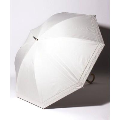 (Beaurance LX/ビューランス)ビューランス 晴雨兼用 1段スライドショート傘/レディース クリーム