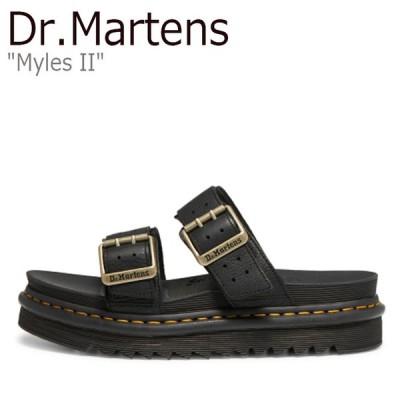 ドクターマーチン サンダル Dr.Martens メンズ MYLES II マイルス II BLACK ブラック 25559001 シューズ