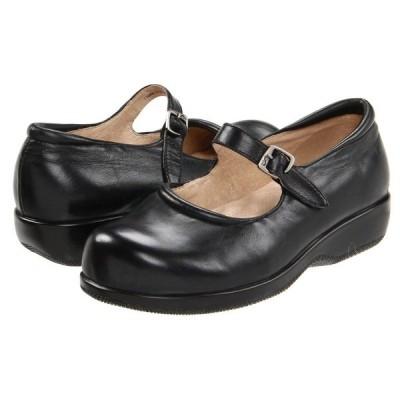 ソフトウォーク SoftWalk レディース スリッポン・フラット シューズ・靴 Jupiter Black Soft Leather