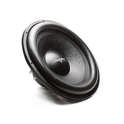"Skar Audio SDR-18 D4 18"" 1200 Watt Max Power Dual 4 Ohm Car Subwoofer 並行輸入品"