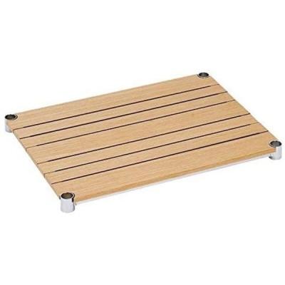 ドウシシャ ルミナス 25mmポール ウッドシェルフ(木製棚板) ナチュラル 61×46cm WS6045-NA