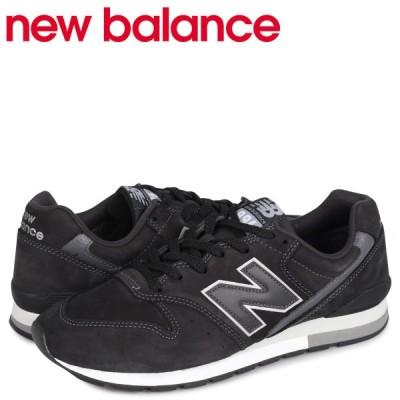 ニューバランス new balance 996 スニーカー メンズ Dワイズ ブラック 黒 CM996RJ [4/13 追加入荷]