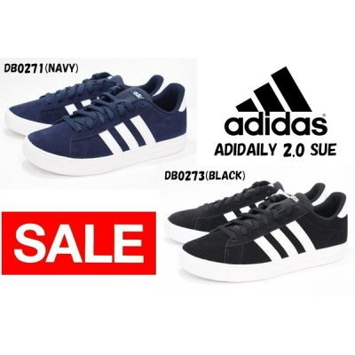 アディダス メンズ スニーカー adidas ADIDAILY 2.0 SUE DB0271 NAVY DB0273 BLACK