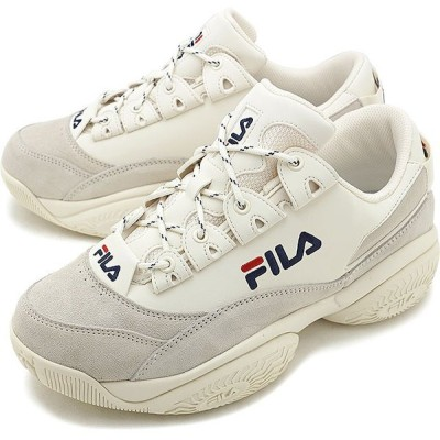 フィラ FILA メンズ プロヴィナンス PROVENANCE スニーカー 靴 オフホワイト Fネイビー Fレッド ホワイト系 F0400-0126 FW19