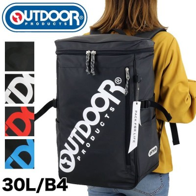 OUTDOOR PRODUCTS(アウトドアプロダクツ) スクエアリュック デイパック バックパック 30L B4 PC収納 62601 メンズ レディース ジュニア送料無料