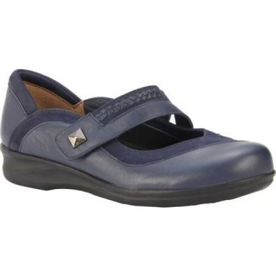 ウォーキング クレードル Walking Cradles レディース シューズ・靴 Clover Mary Jane Navy Nappa/Nubuck Leather