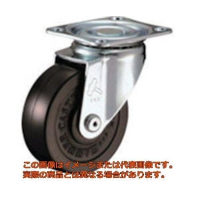 ハンマー 旋回式ゴム車輪 75mm 420SR75BAR01