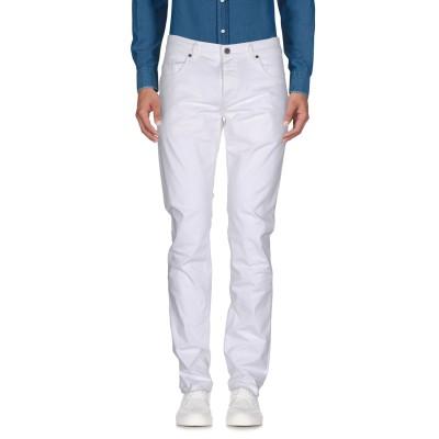 ビッケンバーグ BIKKEMBERGS パンツ ホワイト 36 コットン 97% / ポリウレタン 3% パンツ