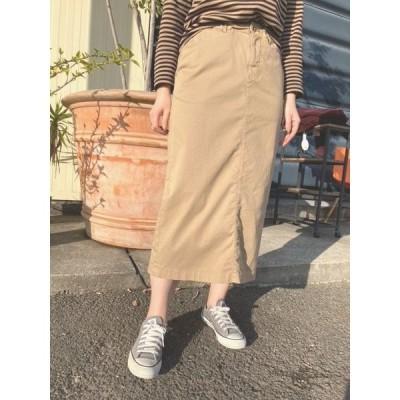 ディーエムジー スカート D.M.G 17-403T ISKOストレッチタイトスカート 【364.BEIGE】