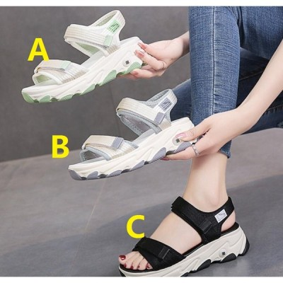 NEW サンダル 学生 厚底 3色 レディース ミュール 靴 春夏 韓国風 令和 パンプス 5CMくらいヒール 履きやすい ローヒール 美脚 普段着 20代30代40代