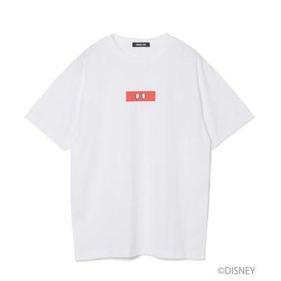 tシャツ Tシャツ 【Disney Collection】ミッキーマウスモチーフボックスプリントTシャツ