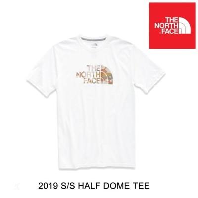 USA企画 THE NORTH FACE ザ ノースフェイス ハーフ ドーム Tシャツ SHORT-SLEEVE HALF DOME TEE - BK4 TNF WHITE/MOAB KHAKI WOODCHIP CAMO DESERT PRINT