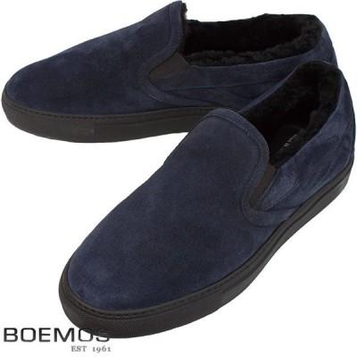 BOEMOS ボエモス メンズ シューズ  I5-4387S 4TA1211 B NAVY