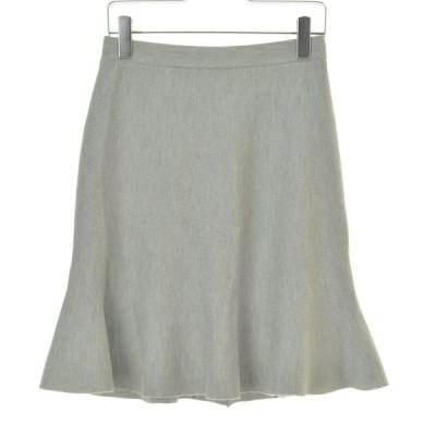KUMIKYOKU / クミキョク 【洗える】コンパクトウールストレッチニット スカート