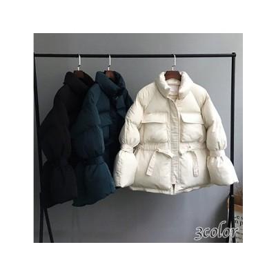 EB1060 ダウンジャケット ジッパー 中綿 冬 ショートジャケット 厚手 ショートコート 1277