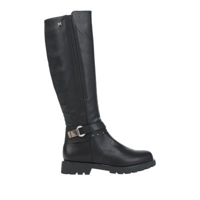 MARIA MARE ブーツ ブラック 37 紡績繊維 ブーツ