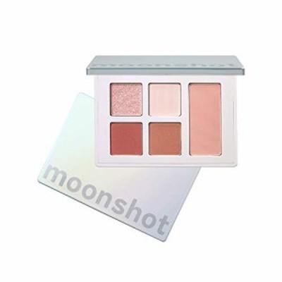 moonshot (ムーンショット) ピュアレイヤードパレット [ lively coral (5色入り) ] アイシャドウ & チーク コーラル系 ピンク ナチュラル
