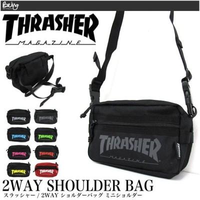 【メール便配送】THRASHER スラッシャー バッグ ショルダーバッグ ミニショルダーバッグ THRSG-400