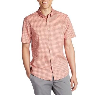 キャッチサーフ メンズ シャツ トップス Catch Surf Tiago Short-Sleeve Shirt Coral