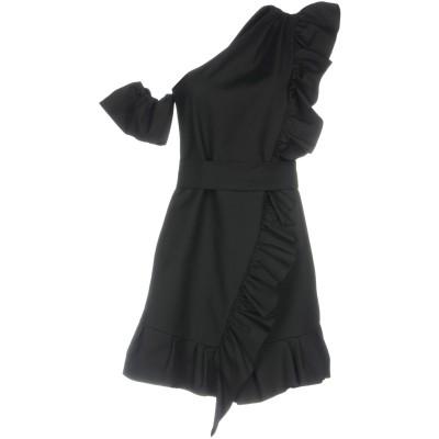 ピンコ PINKO ミニワンピース&ドレス ブラック 38 コットン 50% / ナイロン 44% / ポリウレタン 6% ミニワンピース&ドレス