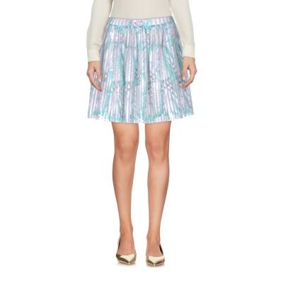 GAëLLE Paris ミニスカート ライトグリーン 1 ポリエステル 100% ミニスカート