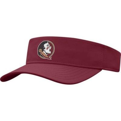 トップオブザワールド メンズ 帽子 アクセサリー Top of the World Men's Florida State Seminoles Garnet Adjustable Visor
